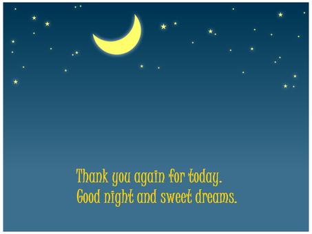 Starry sky night sky moon crescent star night sky scarlet