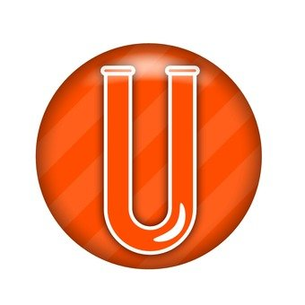 U-shaped pipe symbol