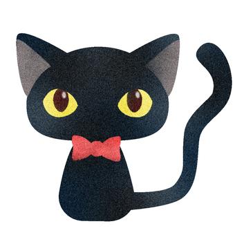 Black cat illustration (3)