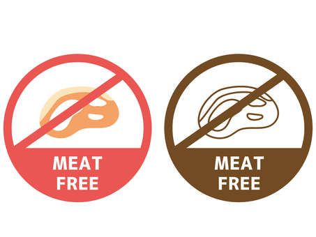 Food allergy label meat