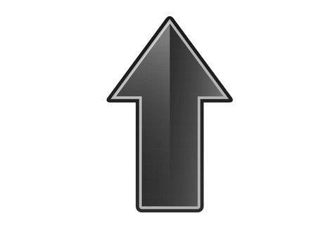Up arrow (black)