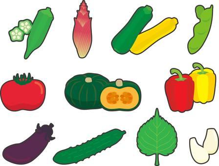 Vegetable in July