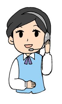 女性オペレーター(電話対応)