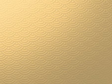 Texture background wave pattern gold