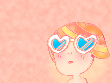 Heart glasses guy 02