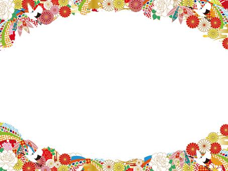 2019 Japan pattern Japanese pattern frame 27