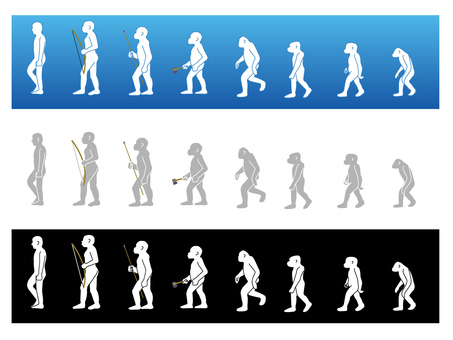 humans - walk_ Bipedal walk of mankind 1