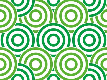 Swirl pattern _ green series