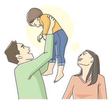 행복 가족 _ 친자