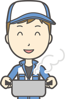 Male mechanic-334-bust