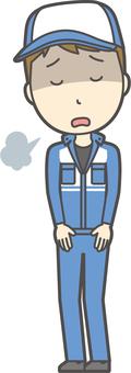 남성 정비사 -026- 전신