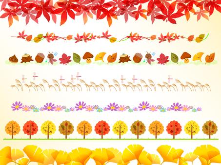 가을의 여러 라인 -2