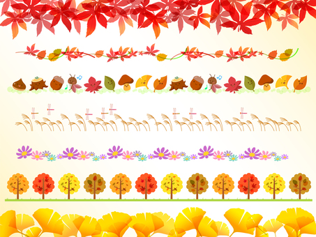 Various autumn lines -2
