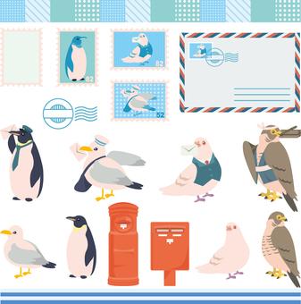 Letter Bird Set