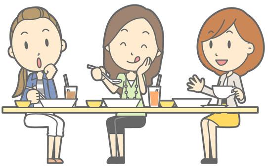 Women's lunch - whole body