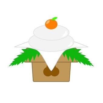 Kagami cake