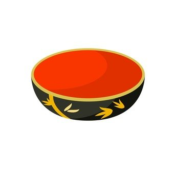 Lacquerware - dish