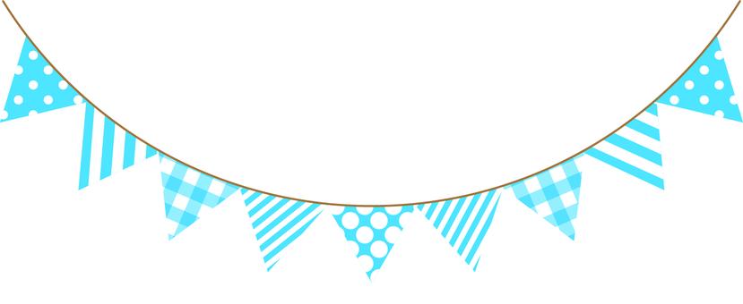 Garland (light blue)