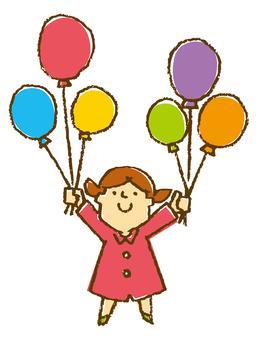 A balloon full