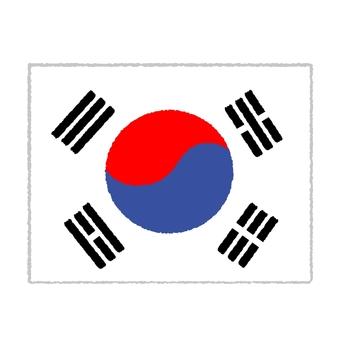 Korean flag ②