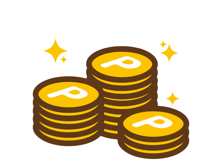Accumulating points virtual currency