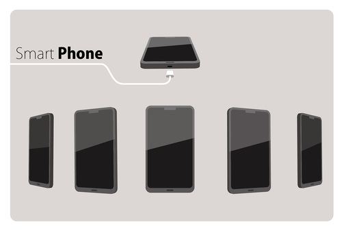 Smart phone multiple angles