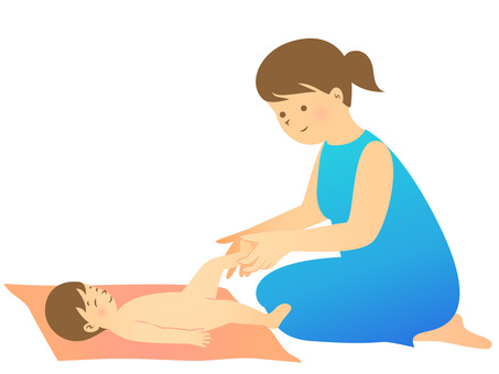 Baby massage · Skin care · Maternal child