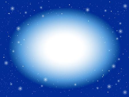 Spiritual image blue background 1