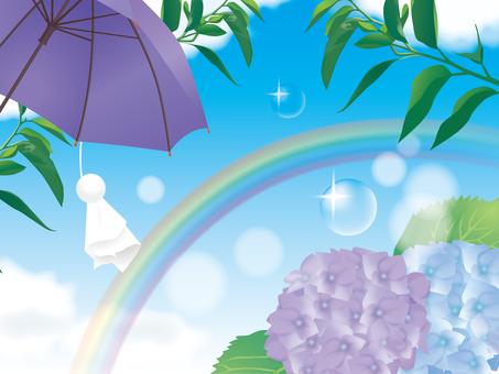 A rain image