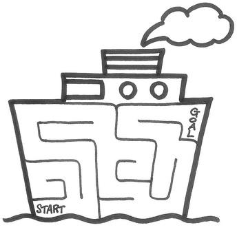 Lost - 16 maze ship