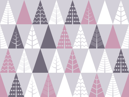 Tree seamless pattern 03