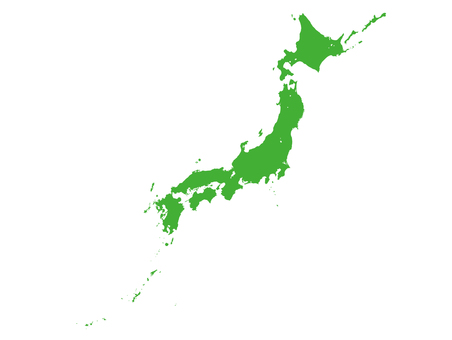 Japanese archipelago high definition