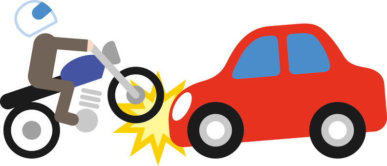 Traffic accident accident car bike