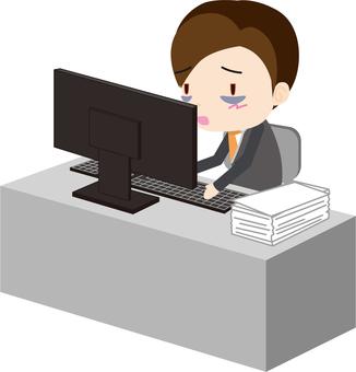 Overtime work (salaryman)