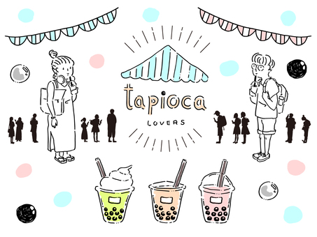 Tapioca Drink Lovers