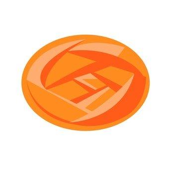 Drop, Orange