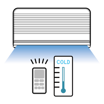 Air conditioner and thermometer