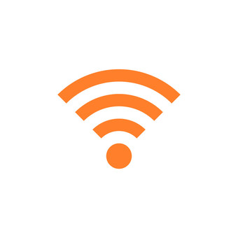Illustration icon of wifi