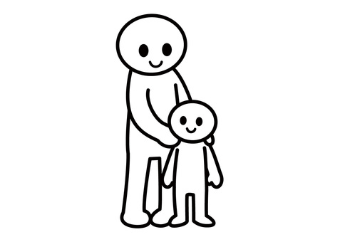 【Theme】 Stickman-Parent and child