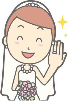 Bride dress - Ring - Bust
