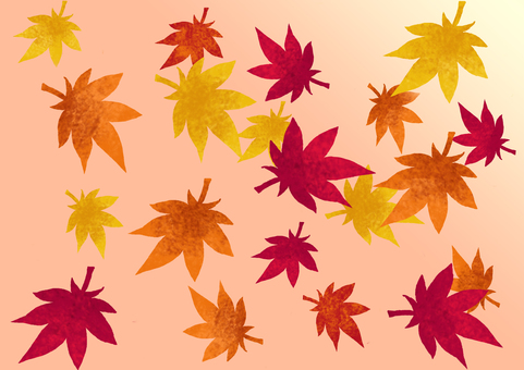 Lots of autumn leaves
