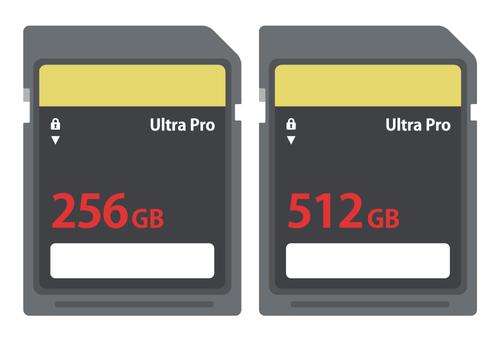 High speed SD card
