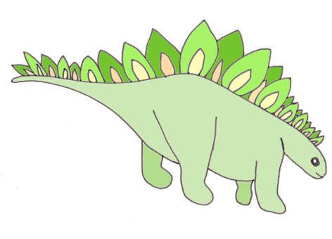 恐竜(ステゴザウルス)