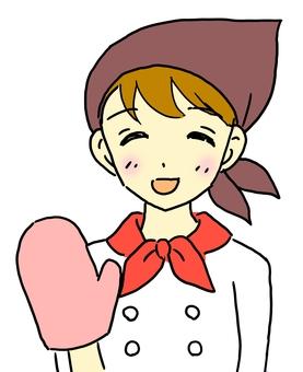빵집 소녀