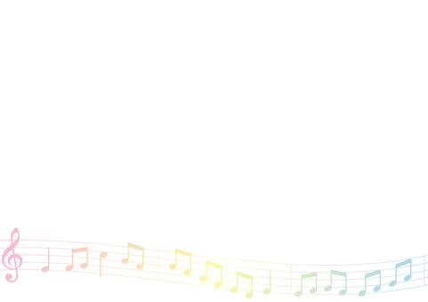 Sheet music plate
