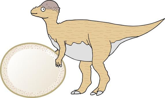 恐龍Pakkefaro Saaurus