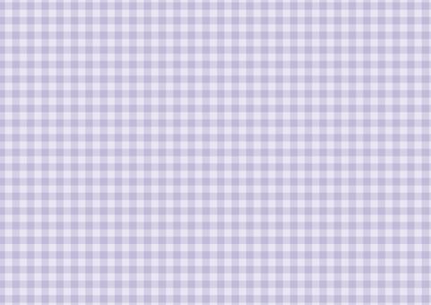 Check pattern fine purple