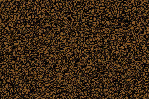 Crushed texture material brown