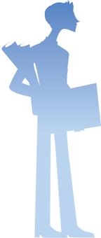 Male silhouette 2