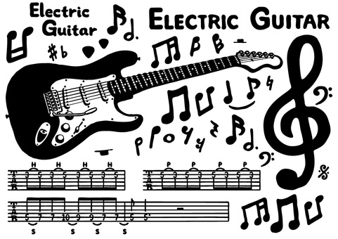 Electric Guitar Set 1 (Black)